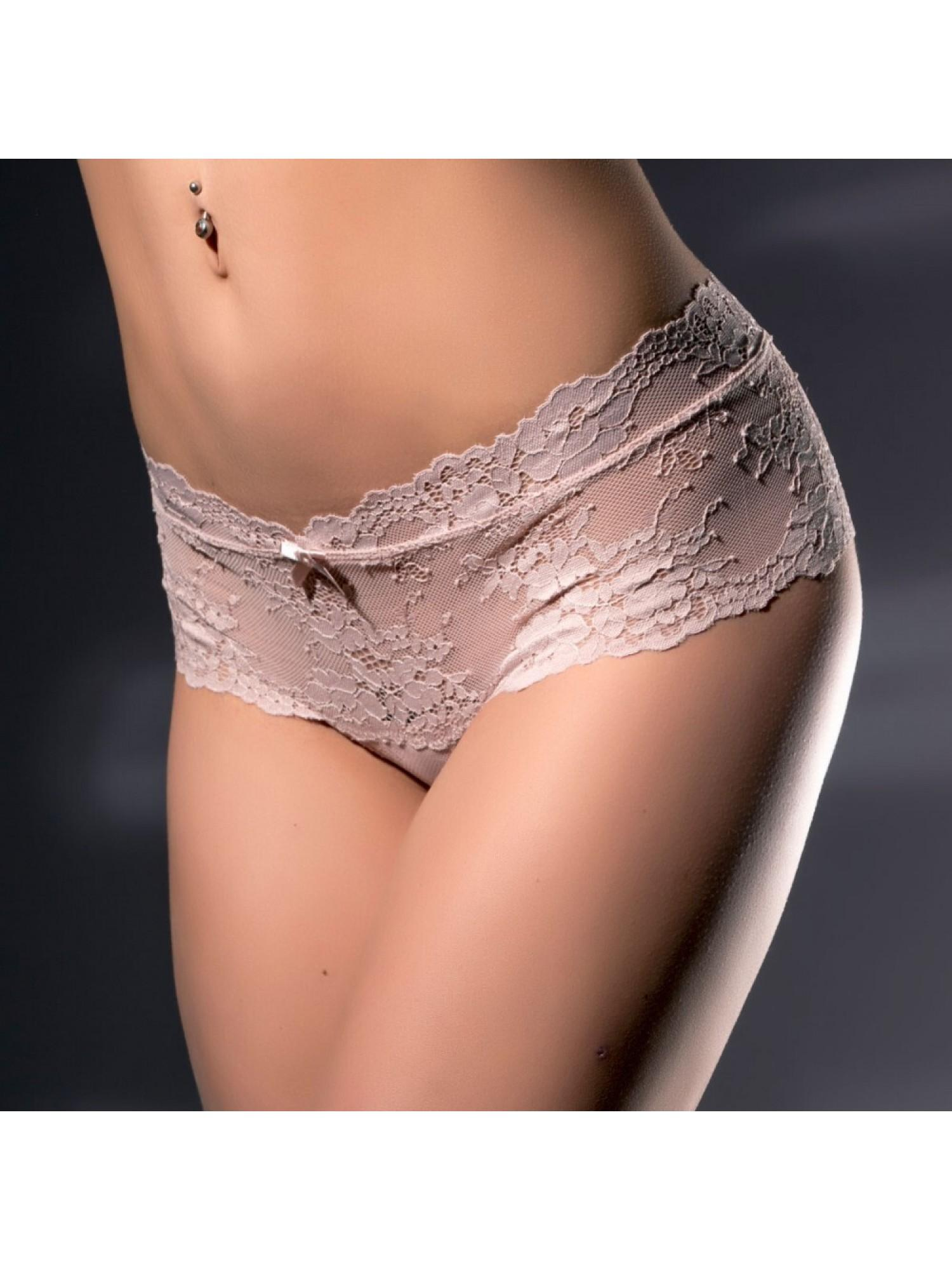 Комплект нижнего белья 6439 Серо-розовый, Acousma