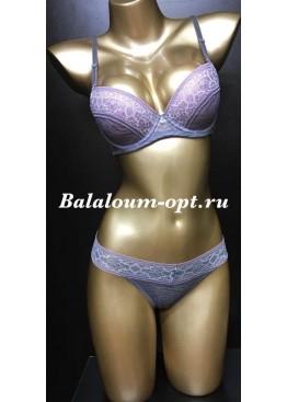Комплект Balaloum A9256 Серо-розовый