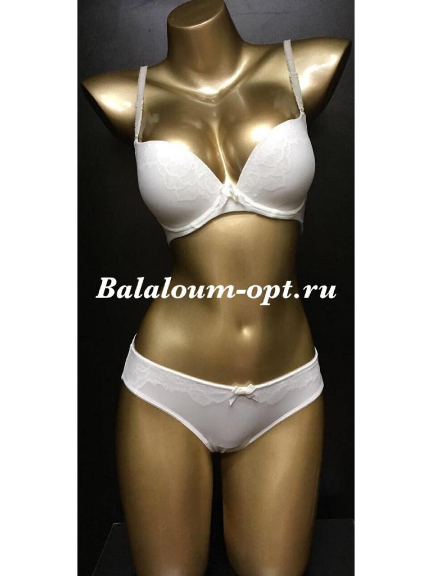 Комплект женского нижнего белья Balaloum А9381 Белый