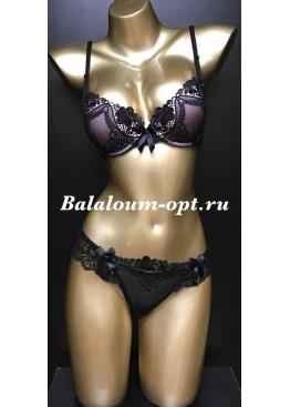 Комплект Balaloum A9280 Чёрно-розовый