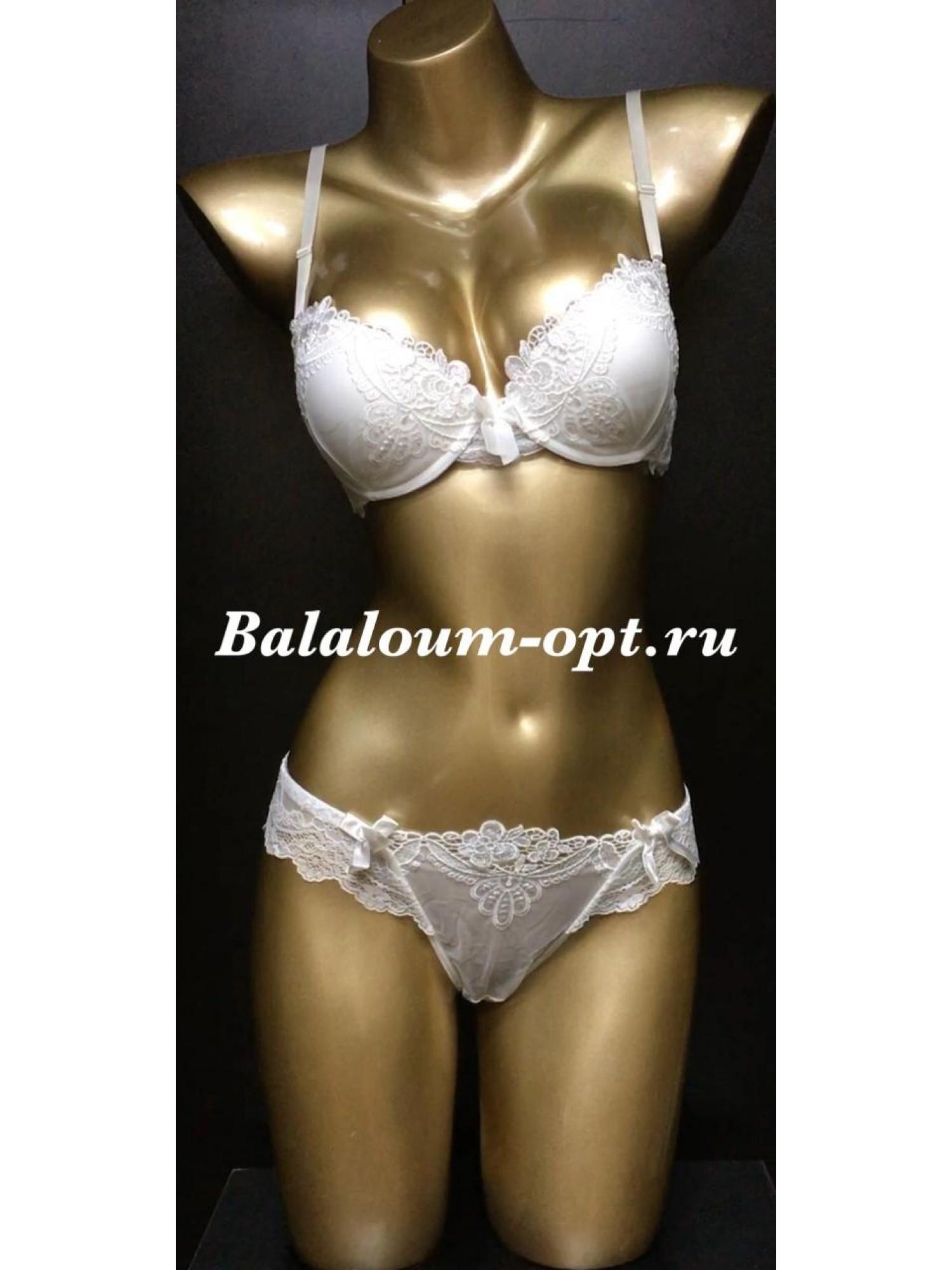 Комплект нижнего женского белья Balaloum А9280 Белый