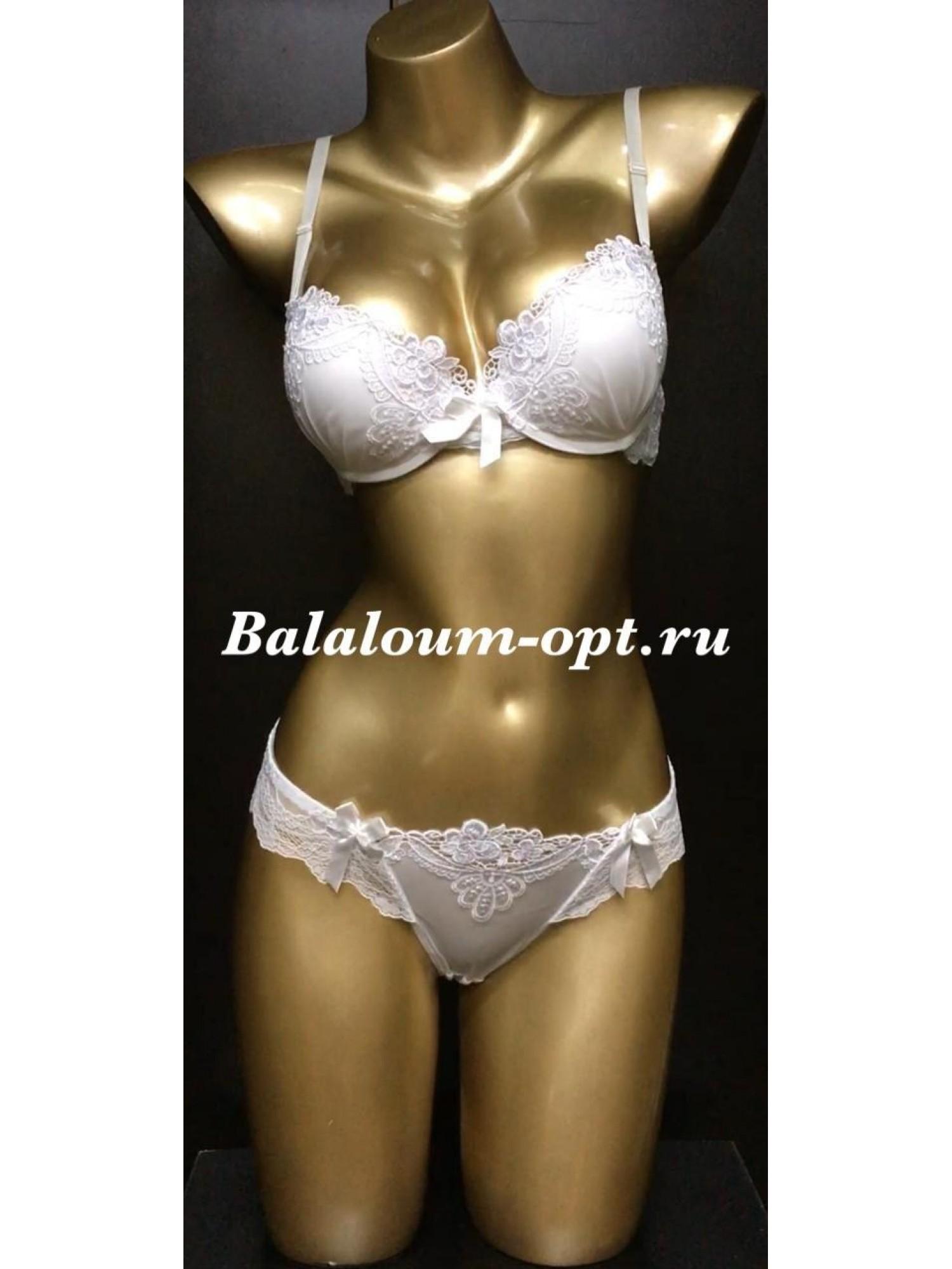 Комплект нижнего женского белья Balaloum А9280 Молочный