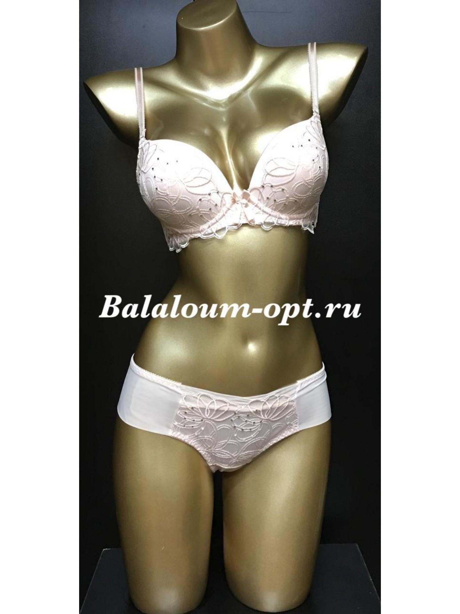 Комплект женского нижнего белья Balaloum А9329 Пудра
