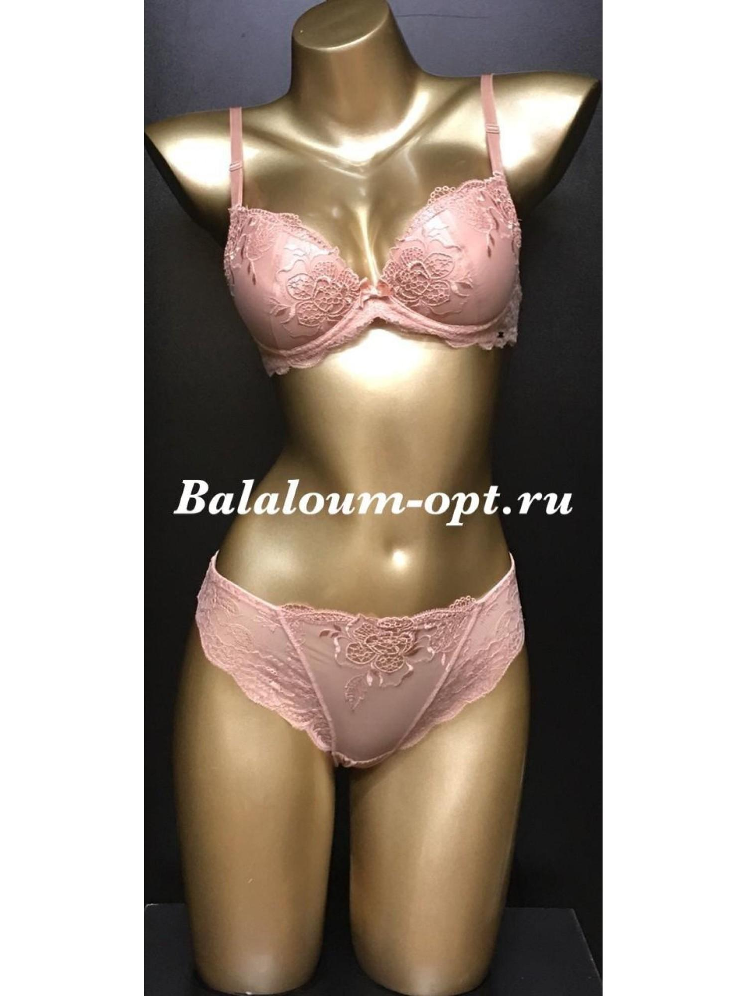 Комплект женского нижнего белья Balaloum А9346 Пудра