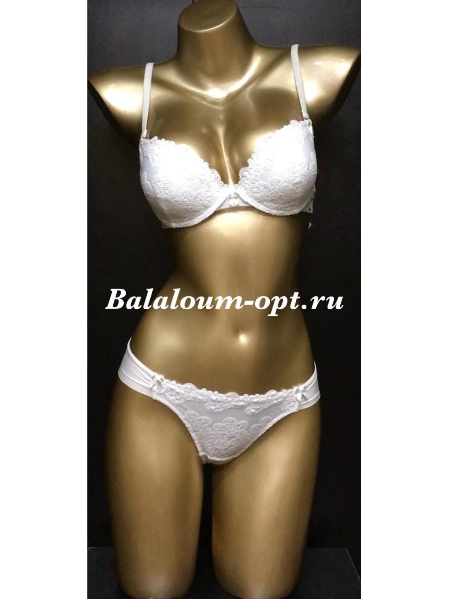 Комплект женского нижнего белья Balaloum А9352 Молочный