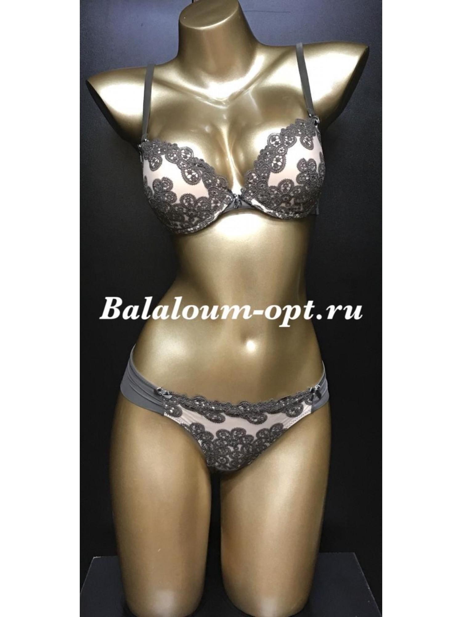 Комплект женского нижнего белья Balaloum А9352 Хаки