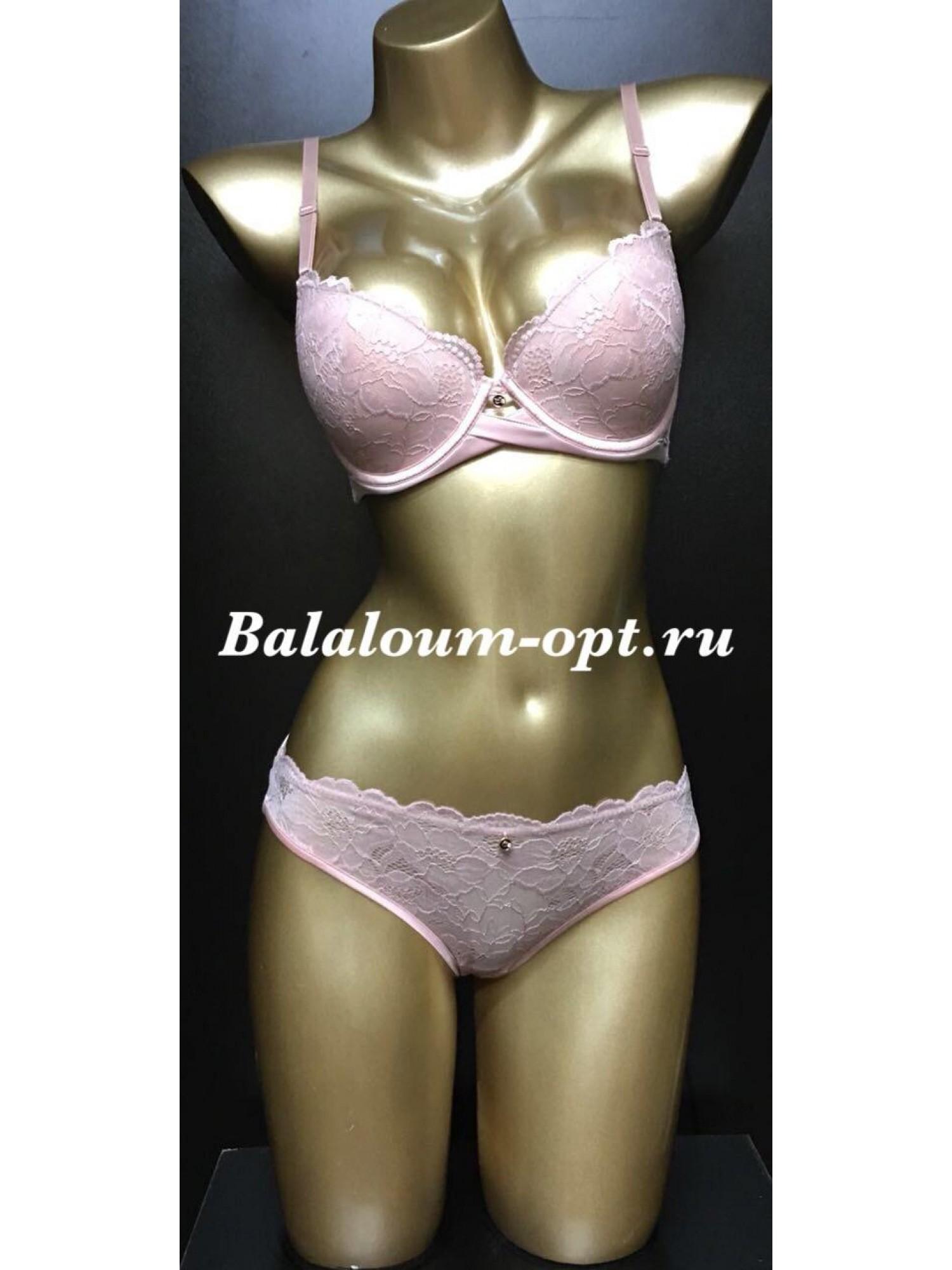 Комплект женского нижнего белья Balaloum А9370 Пудра