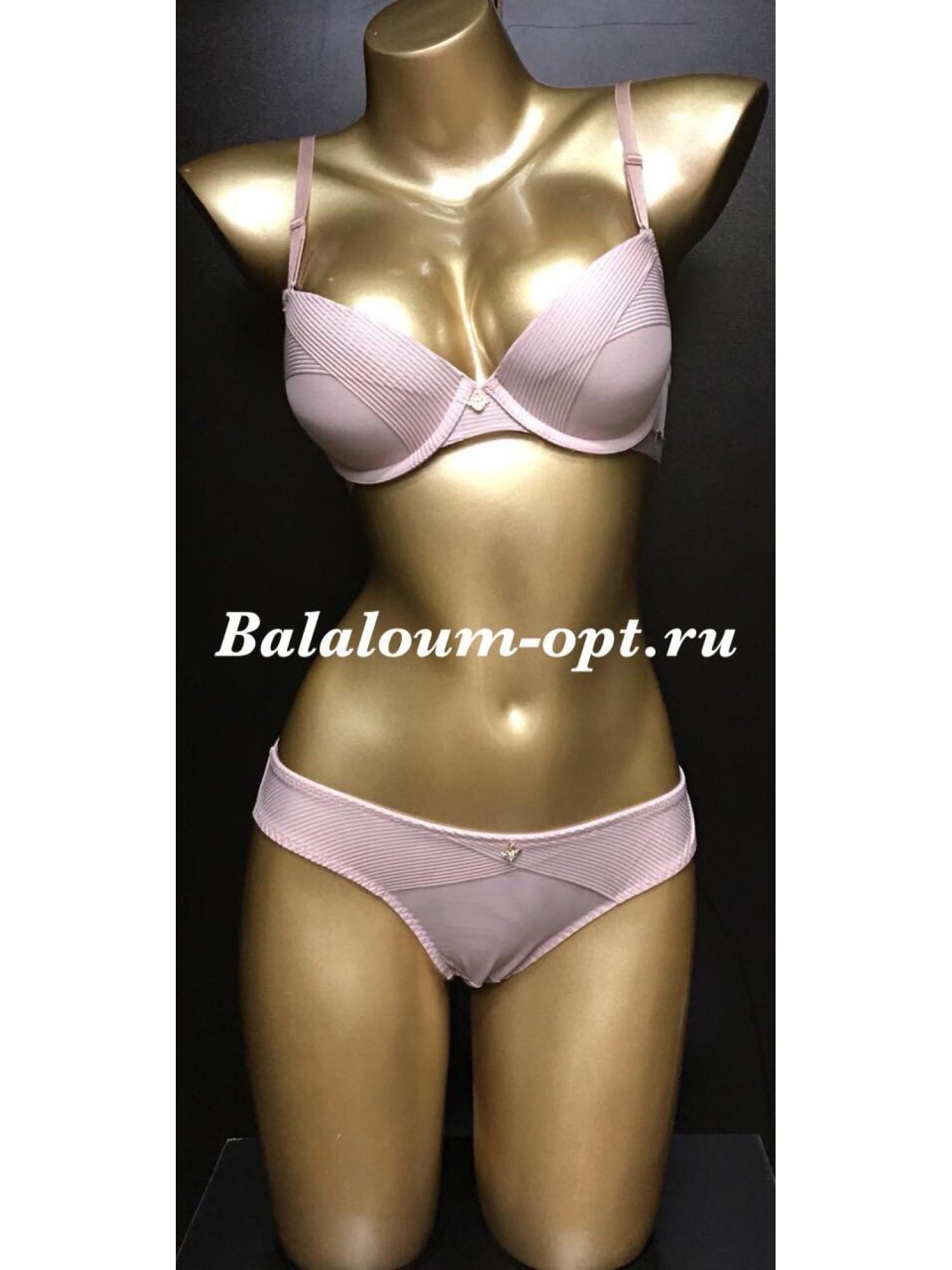 Комплект женского нижнего белья Balaloum А9373 Пудра