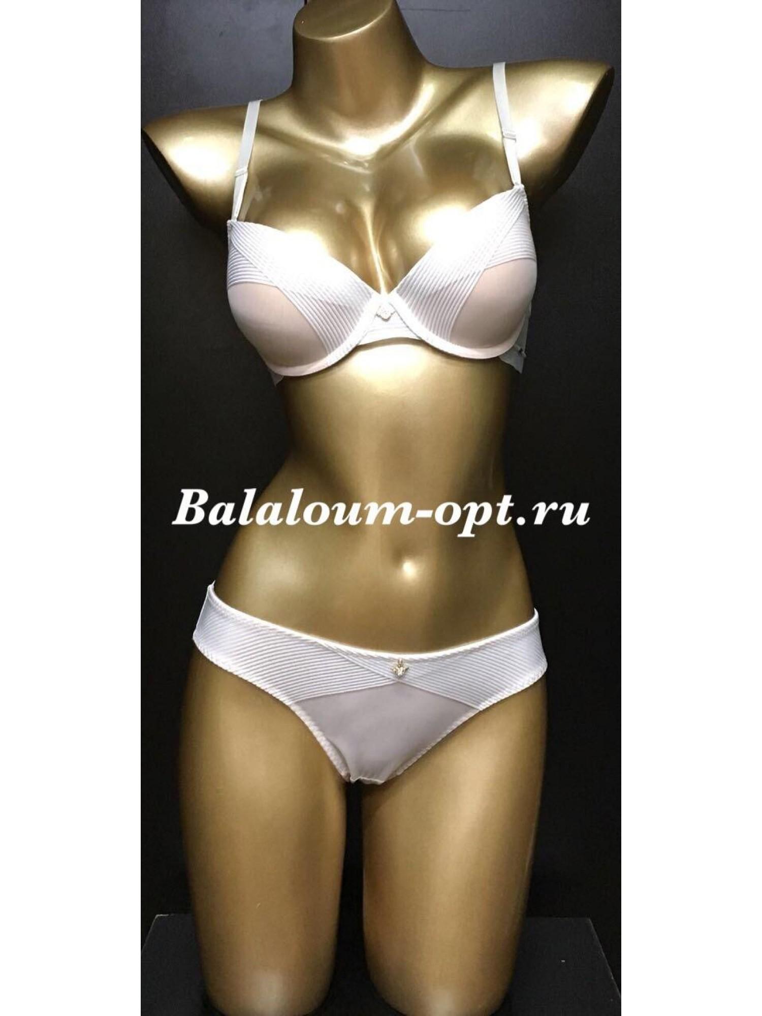 Комплект женского нижнего белья Balaloum А9373 Молочный