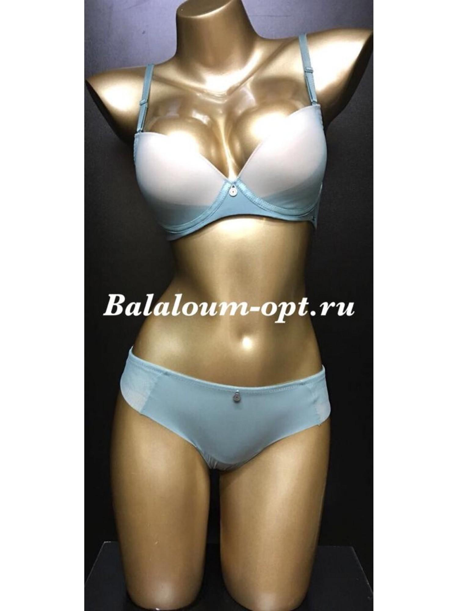 Комплект женского нижнего белья Balaloum А9380 Ментол