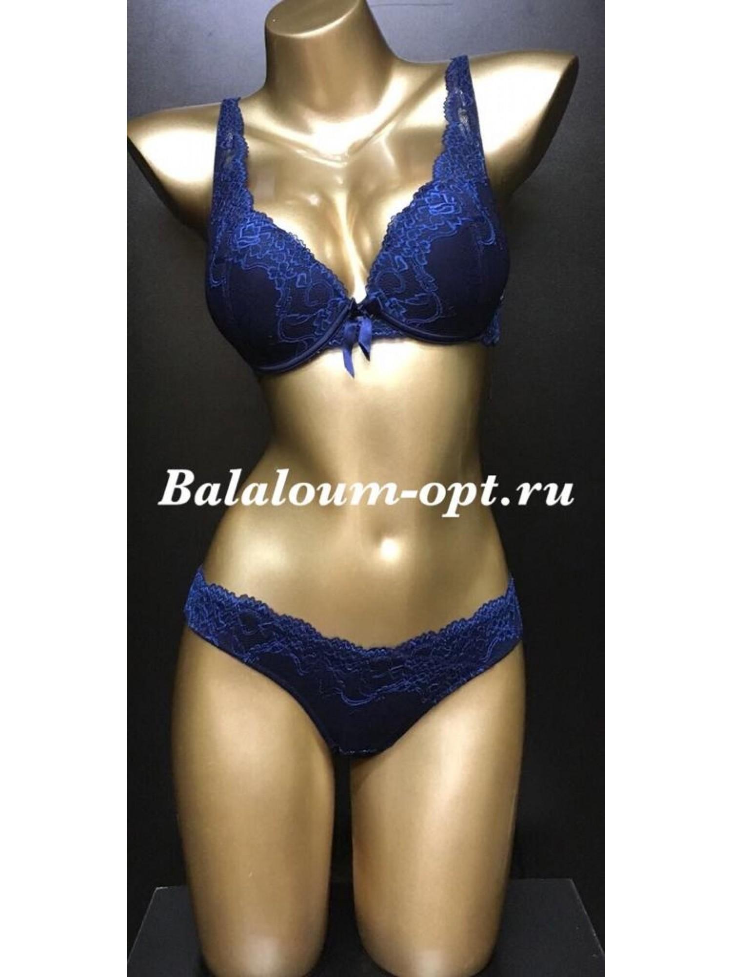 Комплект женского нижнего белья Balaloum А9362 Синий