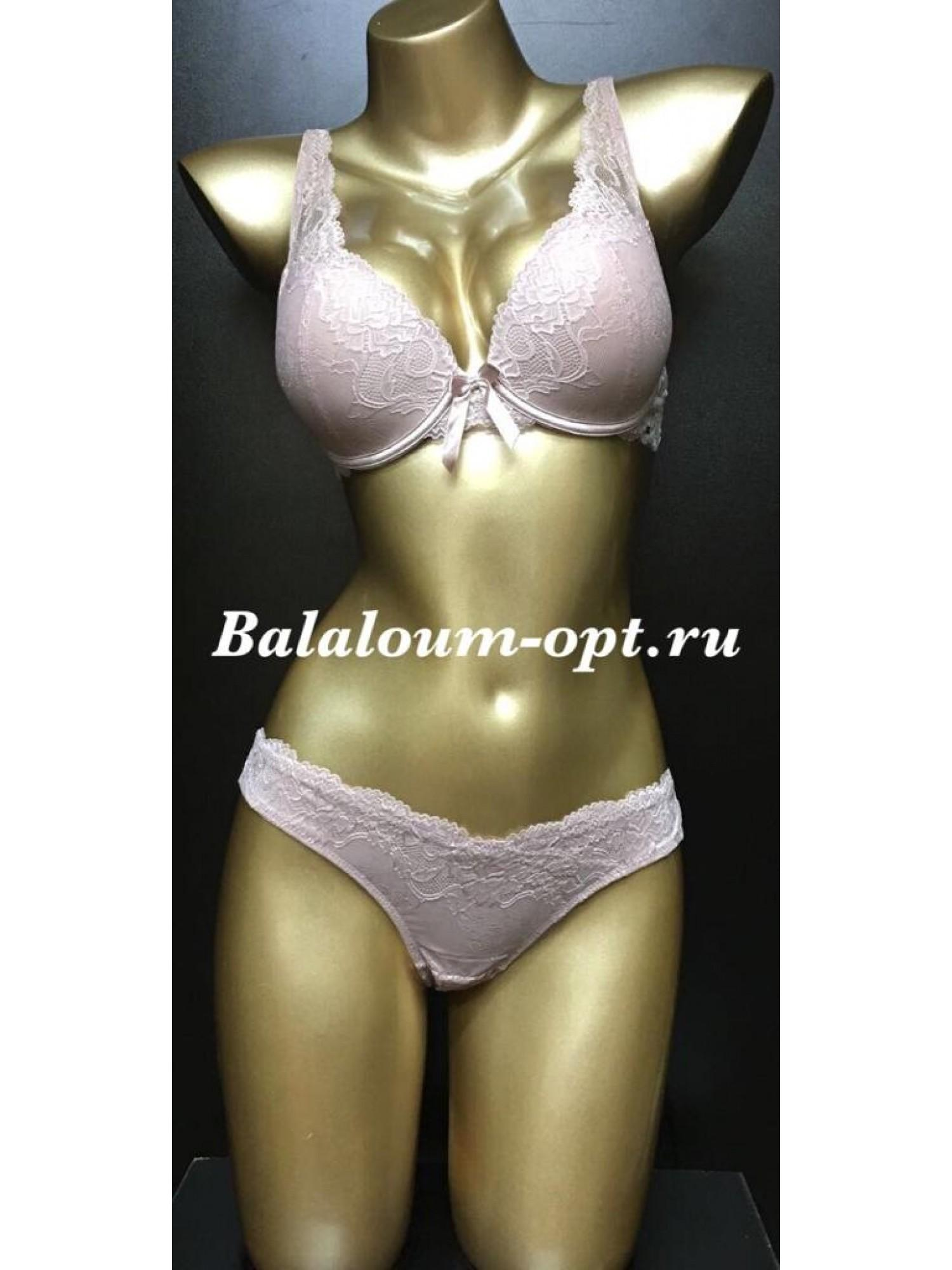 Комплект женского нижнего белья Balaloum А9362 Пудра