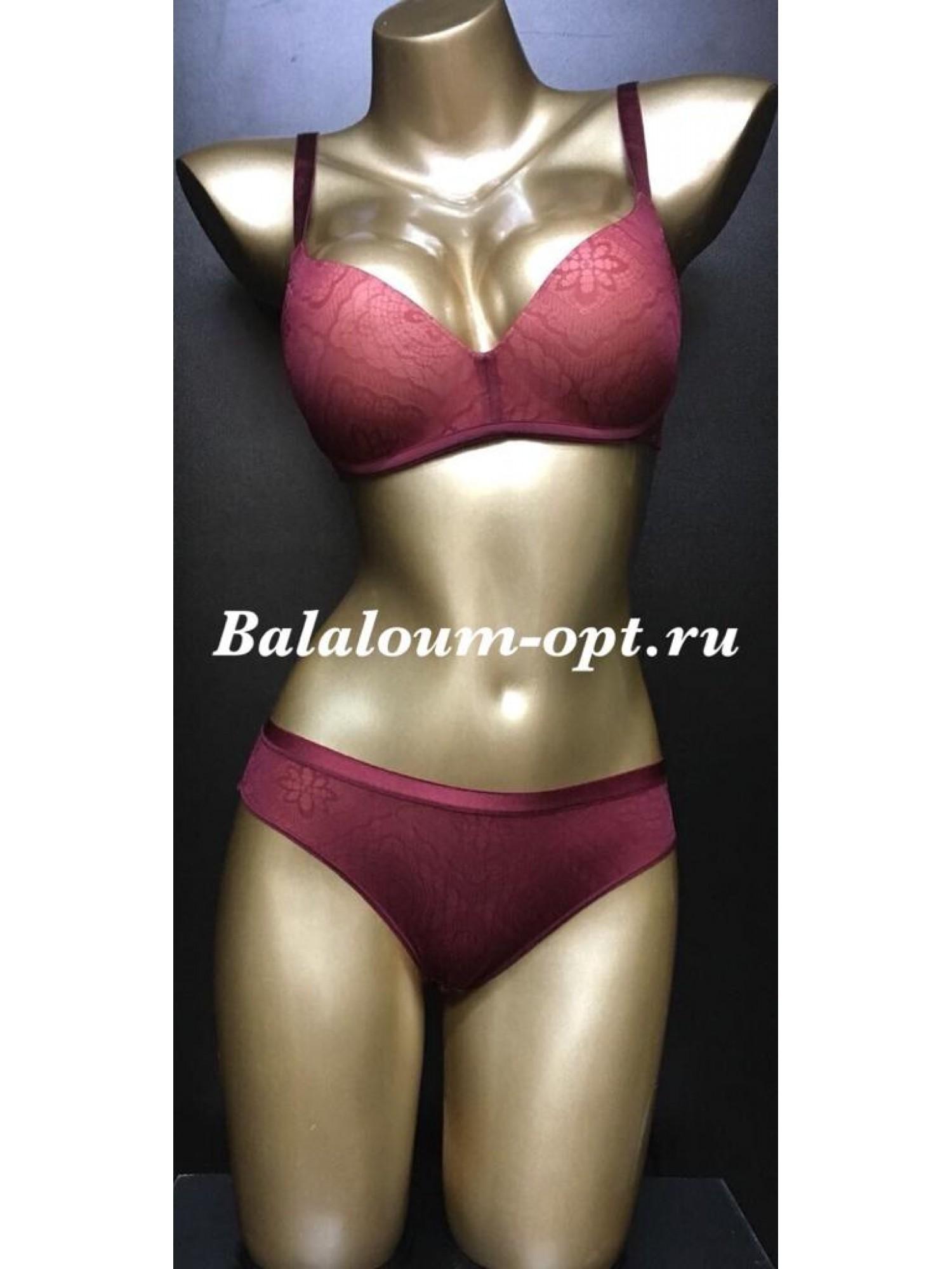 Комплект женского нижнего белья Balaloum А9378 Красный